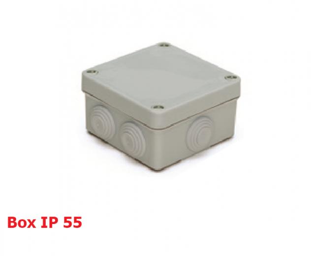 انواع تابلوهاى PVC كونز دار در سايزهاى مختلف IP55