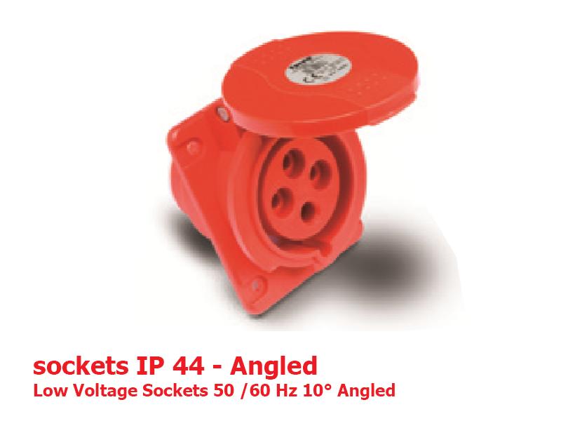 سوكتهای تابلویی IP44
