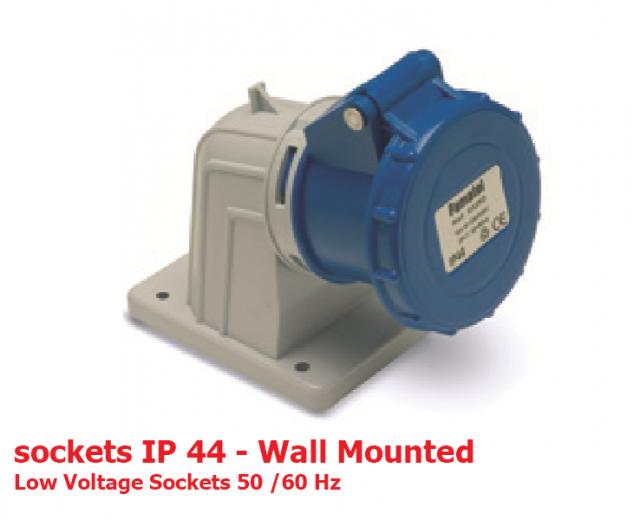 سوكتهای دیواری IP44