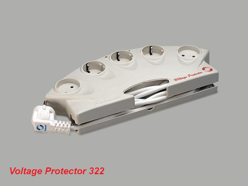محافظ ولتاژ ۵ خروجي ۳۲۲